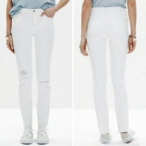 💥 Sale MADEWELL ALLEY STRAIGHT SKINNY SIZE 24(E)